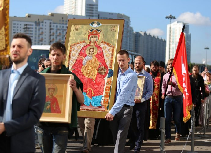 Сергей Чесноков об идее самого долгого крестного хода