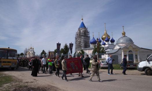 В Нижегородской митрополии встретили участников крестного хода «За жизнь и семью — 2018»