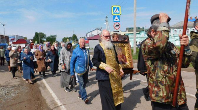 Участники царского крестного хода 14 июня войдут в Глазов
