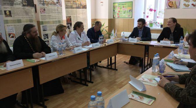 В канун Международного Дня защиты детей, в женской консультации Шуйский ЦРБ состоялся круглый стол