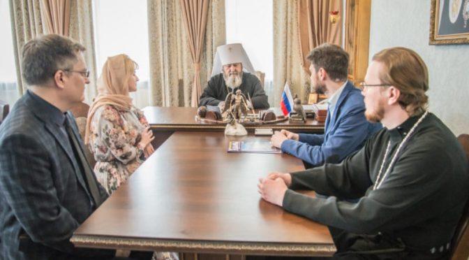 Митрополит Ижевский и Удмуртский Викторин встретился с координатором всероссийского движения «За жизнь»