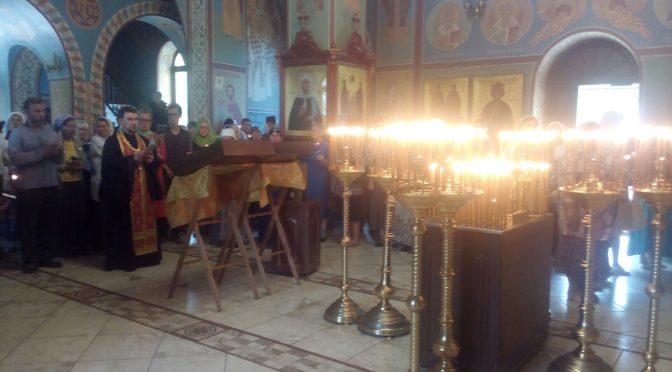 Крестный ход, посвящённый 100-летию гибели Царственных страстостерпцев, в Чернушке